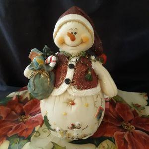 3/$12 Christmas Snowman Statue